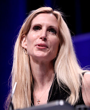 300px Ann Coulter by Gage Skidmore 2 Ann Coulter Calls Libertarians P*ssies, Gets Booed by Room Full of Students on Stossel