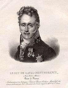 Image illustrative de l'article Anne-Adrien-Pierre de Montmorency-Laval