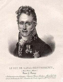 Anne-Adrien-Pierre de Montmorency-Laval French noble