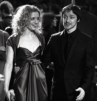 James McAvoy - McAvoy with then wife Anne-Marie whom he married in November 2006. The couple announced their intention to divorce in May 2016.