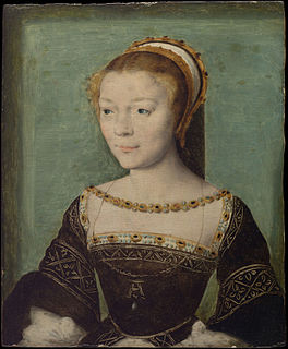 Anne de Pisseleu dHeilly French duchess