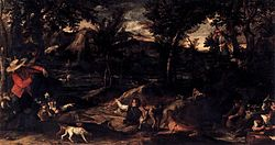 Annibale Carracci: Hunting