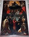 Anonimo, dio padre, san pietro, san giovanni evangelista e altri santi, xvii secolo 01 (angeli del curradi).JPG