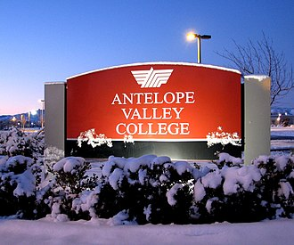 Antelope Valley College - Image: Antelope Valley College (3118577040)