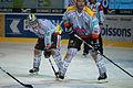 Anthony Huguenin (L), Marco Truttmann (R) - Fribourg-Gotteron vs. HC Bienne, 25.11.2011.jpg