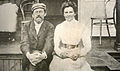 Anton Chekhov and Olga Knipper 1901.jpg