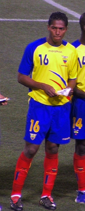 Afro-Ecuadorian - Antonio Valencia, Ecuadorian national football player