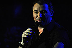 Antonis Remos - Antonis Remos live at Diogenis Studio in Athens on 2 January 2011.