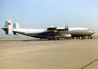 1970 Atlantic Ocean Antonov An-22 crash
