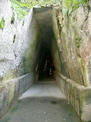 Cumaean Sibyl - Entrance to the Cave of the Sibyl