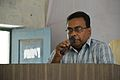 Anup Kumar Sen Lecturing - Bangla Wikipedia National Seminar and Workshop - Hijli College - West Midnapore 2015-09-28 4196.JPG
