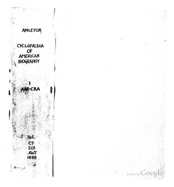 File:Appletons' Cyclopædia of American Biography (1888, volume 1).djvu