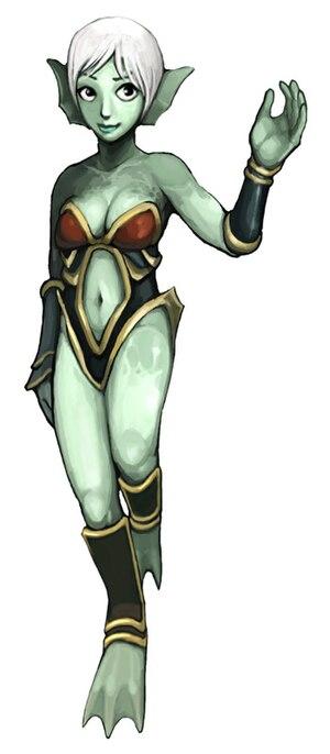 Aquaria (video game) - Image: Aquaria Naija