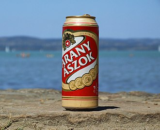 Dreher Breweries - Arany Ászok beer - the beer of the Hungarian Summer at Lake Balaton