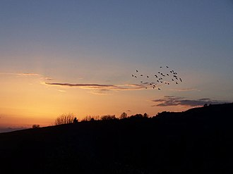Nea Sinopi - Sunset at Archangelos