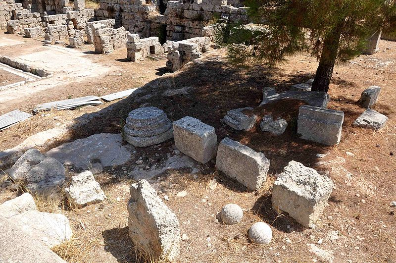 Archeological Site in Ancient Corinth.jpg