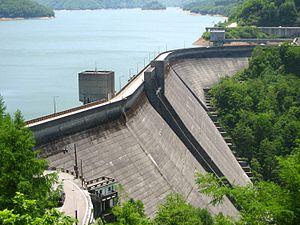 Hokuriku Electric Power Company - The Arimine Dam