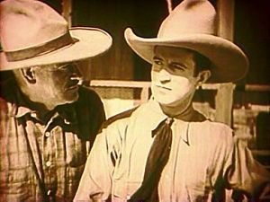 Arizona Days (1928 film) - McGowan and Custer in the film