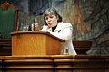 Arja Alho (sd) Finland, talar vid Nordiska radet session i Kopenhamn.jpg