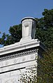 Arlington National Cemetery - urn atop Schley Gate - 2011.jpg