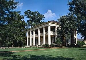 Arlington Antebellum Home & Gardens - Arlington in 1993