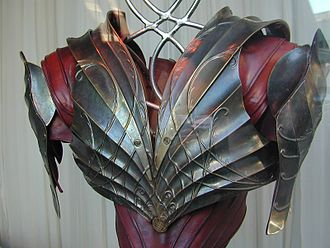 The Lord of the Rings (film series) - An example of Elvish armour from the films.