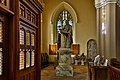 Armagh St. Patrick's Cathedral of the Church of Ireland North Aisle Monument Sir Thomas Molynex by Louis François Roubiliac 2019 09 09.jpg