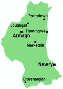County Armagh – Travel guide at Wikivoyage on map of northumberland county pa townships, map of northern ireland, map of county armagh ireland,