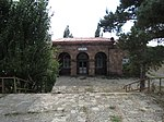 Armenia, Gagarin. Train station 02.jpg