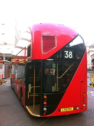 New Routemaster - Curved rear as inspired by AEC Routemaster
