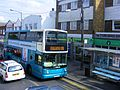 Arriva Medway 6430 GN04UEX on the 191 service at Hoo Co-op, Aug 2009 - Flickr - sludgegulper.jpg