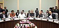 Arun Jaitley chairing the first meeting of Pre-Budget Consultative Meeting with the stakeholders groups from Agriculture Sector in connection with the forthcoming Union Budget 2018-19, in New Delhi.jpg