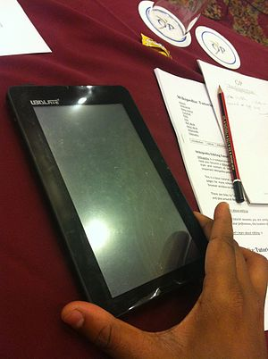 aakash tablet wikipedia