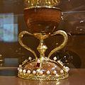 Aspecte del sant calze quan va eixir de sant Joan de la Penya el 1399 (facsímil).JPG
