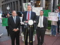 Assemblyman Lancman Joins Public Advocate Bill de Blasio to Urge Corporations to Disclose Political Spending.jpg