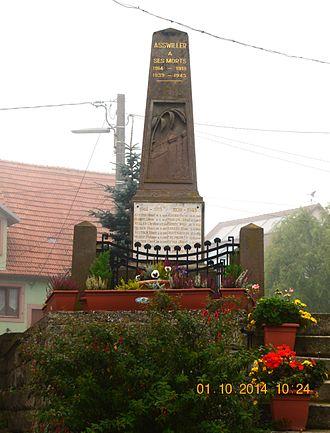 Asswiller - Asswiller War Memorial