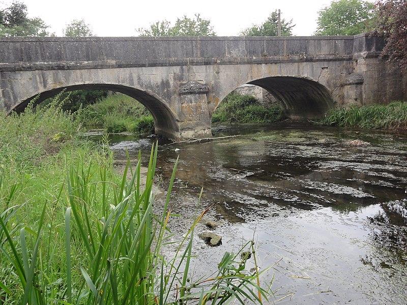 Aubréville (Meuse) pont de la Cousances