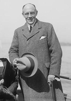 Auckland Geddes, 1st Baron Geddes - Auckland Geddes, 1st Baron Geddes in 1920