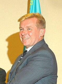 Audronius Ažubalis Lithuanian journalist and politician