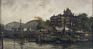 De Vierleeuwenbrug bij de Oude Haven
