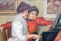 Auguste Renoir Yvonne et Christine Lerolle au piano (1897).jpg