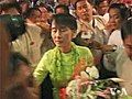 Aung San Suu Kyi arrived at US, the 2nd foreign tour after releasing.jpg