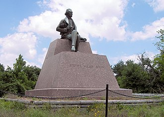 San Felipe, Texas - Image: Austin statue