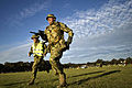 Australian army Warrant Officer 2nd Class Rod Bitter, right, sprints toward the firing line during a match at the 2012 Australian Army Skills at Arms Meeting (AASAM) May 7, 2012, in Puckapunyal, Australia 120507-F-MQ656-305.jpg