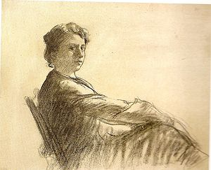 Lluïsa Vidal - Lluïsa Vidal. Self-portrait