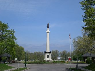 Battle of Sainte-Foy - The Monument des Braves, which commemorates the Battle of St. Foy.