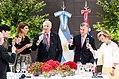 Awada, Harald V, Macri and Queen Sonja sharing a toast 02.jpg
