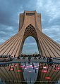 Azadi Tower at sunset.jpg