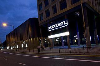 O2 Academy Birmingham music venue located in Birmingham, West Midlands, England