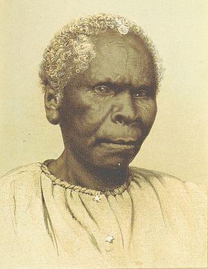 Truganini - Truganini in 1870.